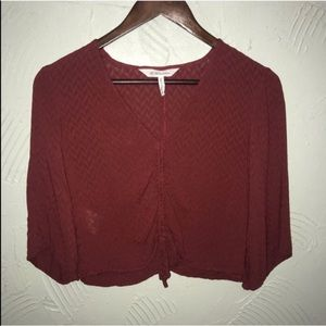 Women's BCBGeneration Red Maroon Blouse